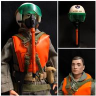 ACTION MAN - PAINTED HEAD SCRAMBLE PILOT